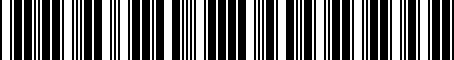 Barcode for PT76735111